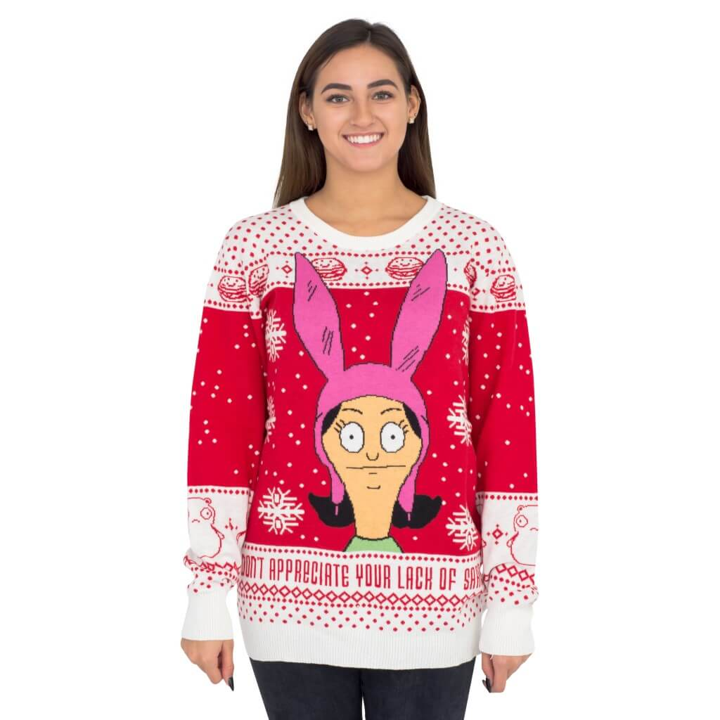 Womens Bobs Burgers Louise Appreciate Your Lack Of Sarcasm
