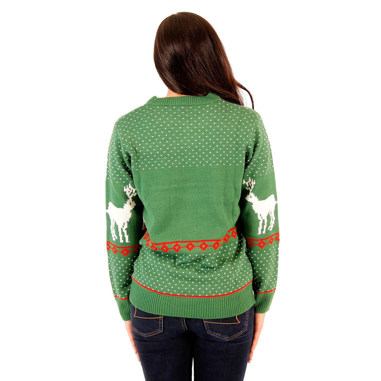 Women's Green Filthy Animal Sweater