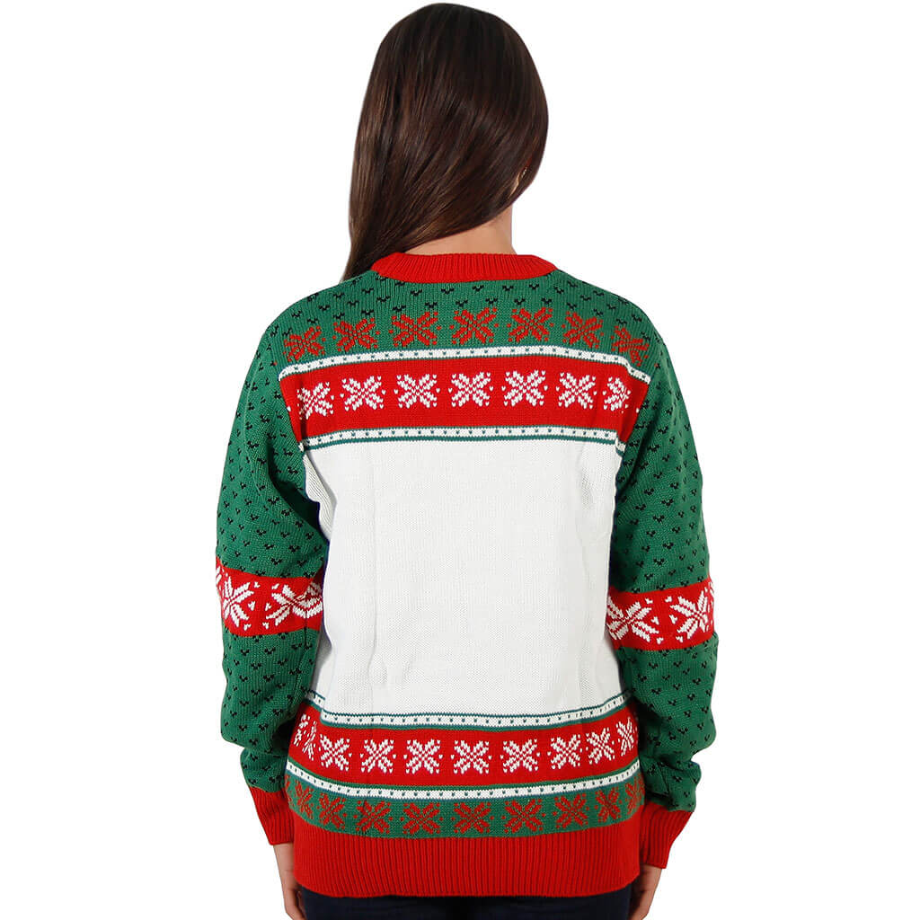 Women's Home Alone Wet Bandits Ugly Christmas Sweater