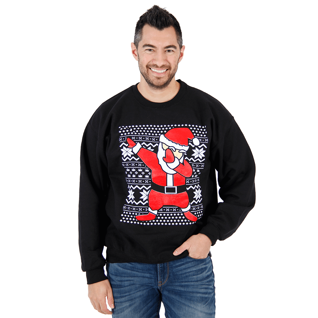 Dabbin' Santa Ugly Christmas Sweater