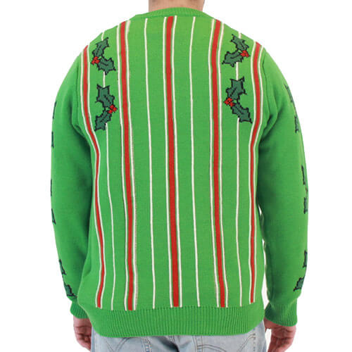 led fireplace christmas sweater - Lighted Christmas Sweaters