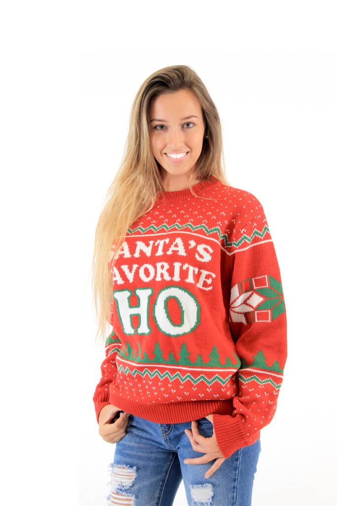 Inappropriate Ugly Sweater