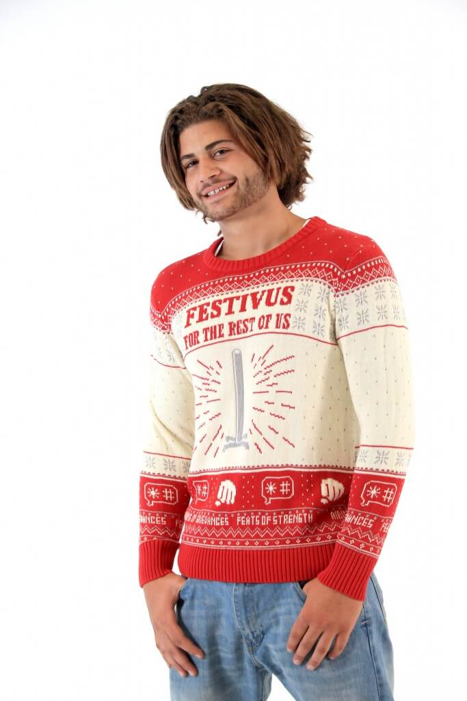 6bf18b8c539 Seinfeld Festivus For The Rest Of Us Pole Sweater