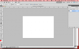 1. Open a blank document that is 5x7in.