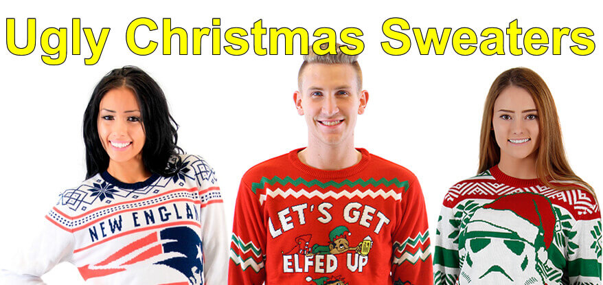 Ugly Christmas Sweater | Ugly Christmas Sweaters for Men and Women