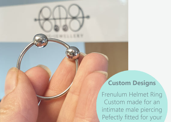Intimate Jewellery - Frenulum Piercing Ring