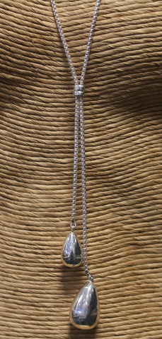 custom-made-double-drop-necklace-silver