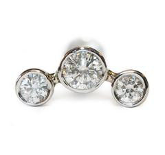 triple-diamond-flat-back-earring