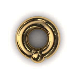 PA Ring or Screw in ball ring 10mm or 00 gauge - Price on Application - BMG Body Jewellery