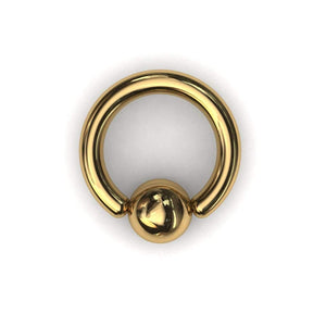 PA Ring or ball closure ring (BCR) 3.2mm or 8 gauge - Price on application - BMG Body Jewellery