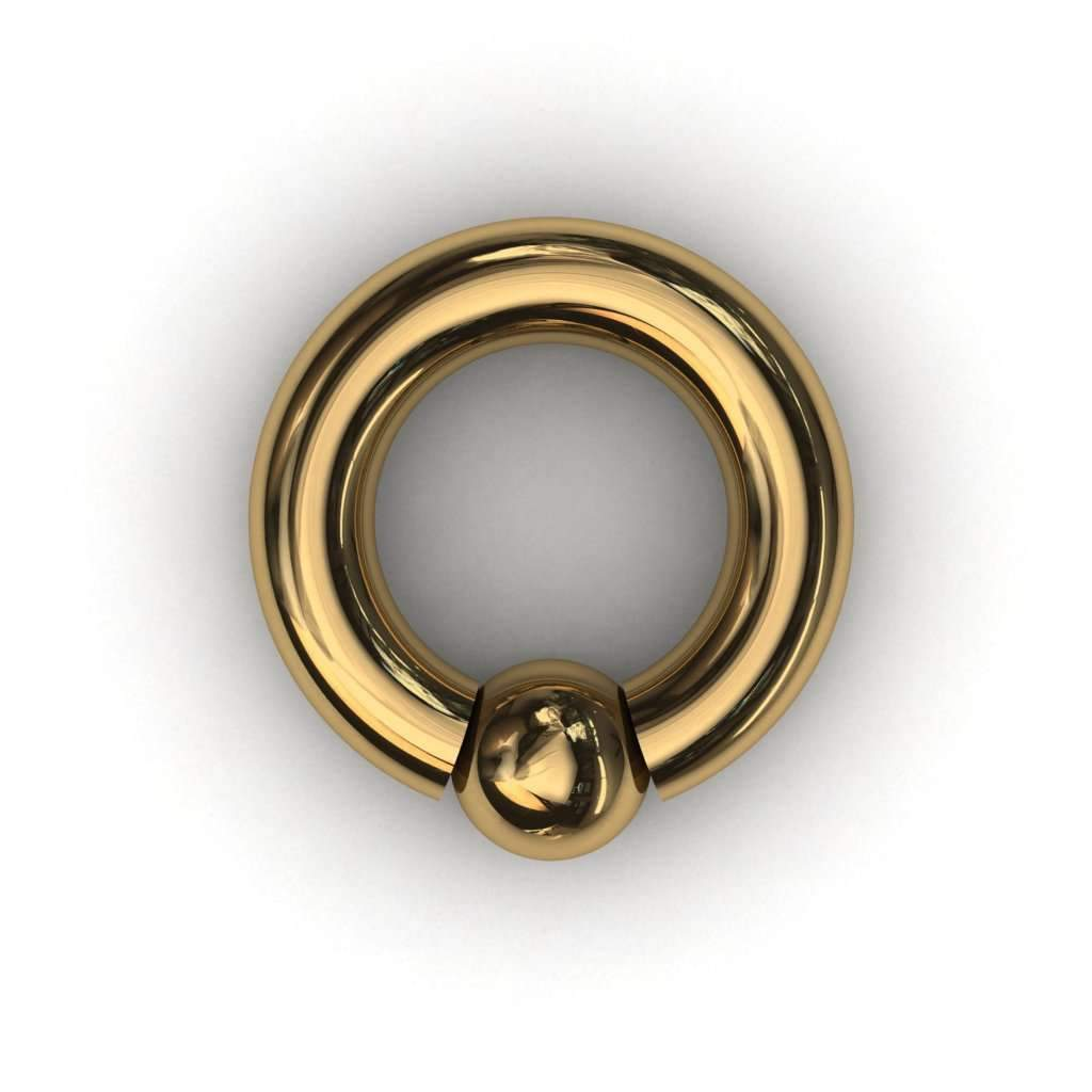 PA Ring or Screw in ball ring 5mm or 4 gauge - Price on Application - BMG Body Jewellery