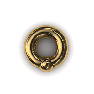 PA Ring or Screw in ball ring 8mm or 0 gauge - Price on Application - BMG Body Jewellery