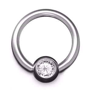 Platinum BCR with 4mm Ball, 1.6mm Gauge - BMG Body Jewellery