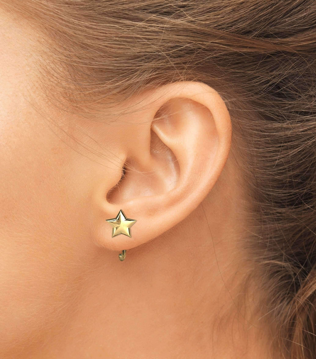 Open Earring Exquisite Star - BMG Body Jewellery