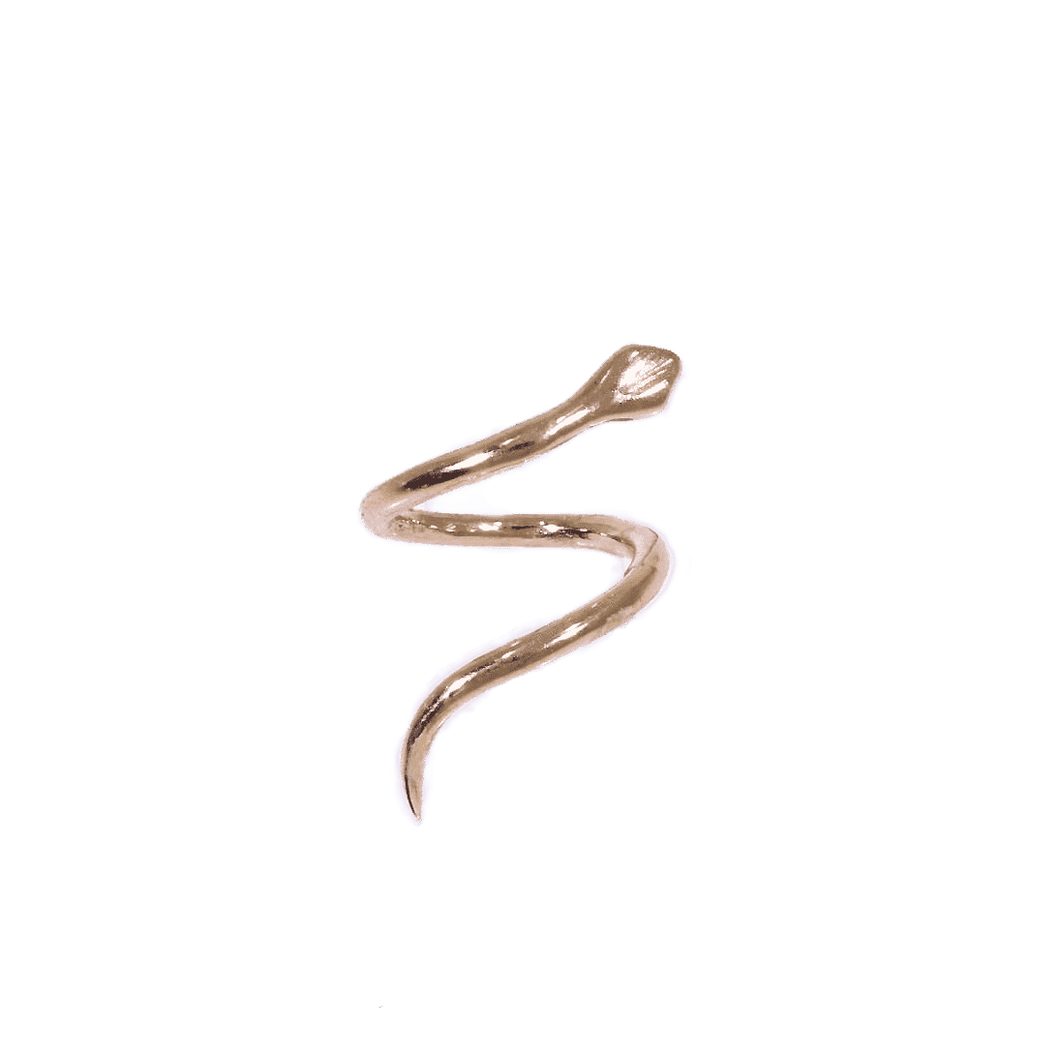 9ct Helix Snake - BMG Body Jewellery