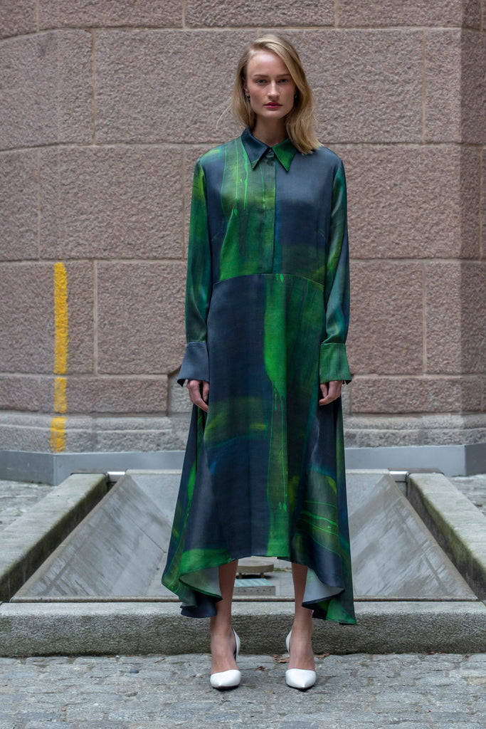 Jade Volume Dress