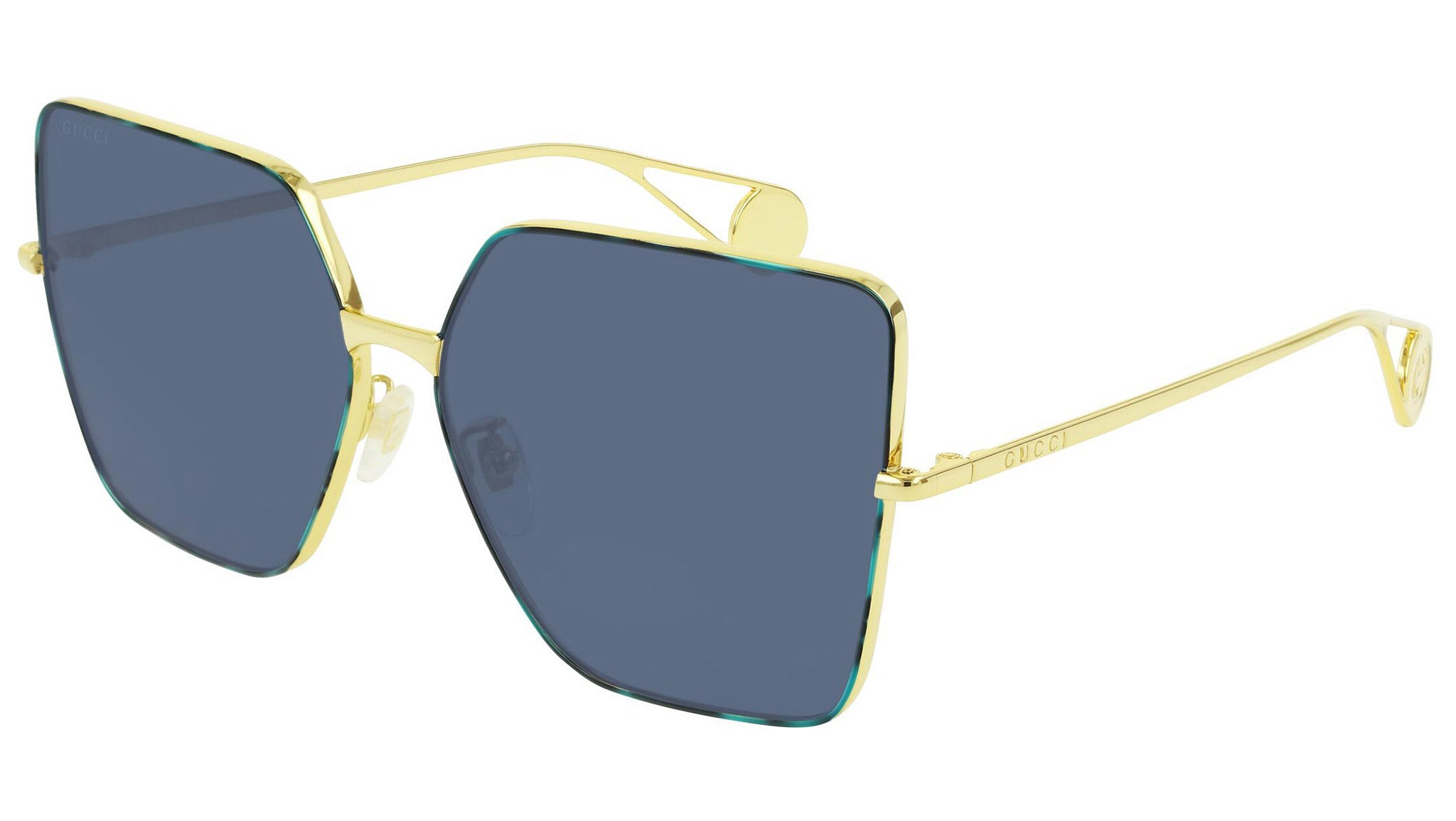 GG0436S havana gold and blue