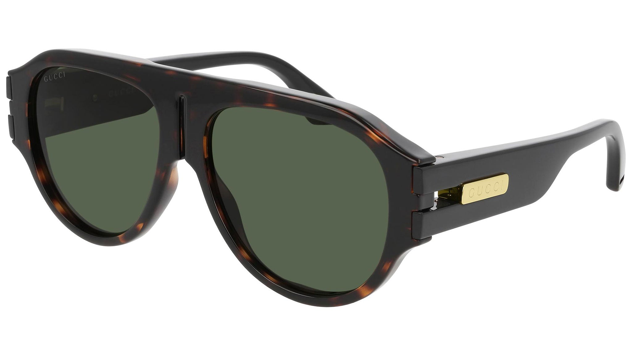 GG0665S dark havana and green