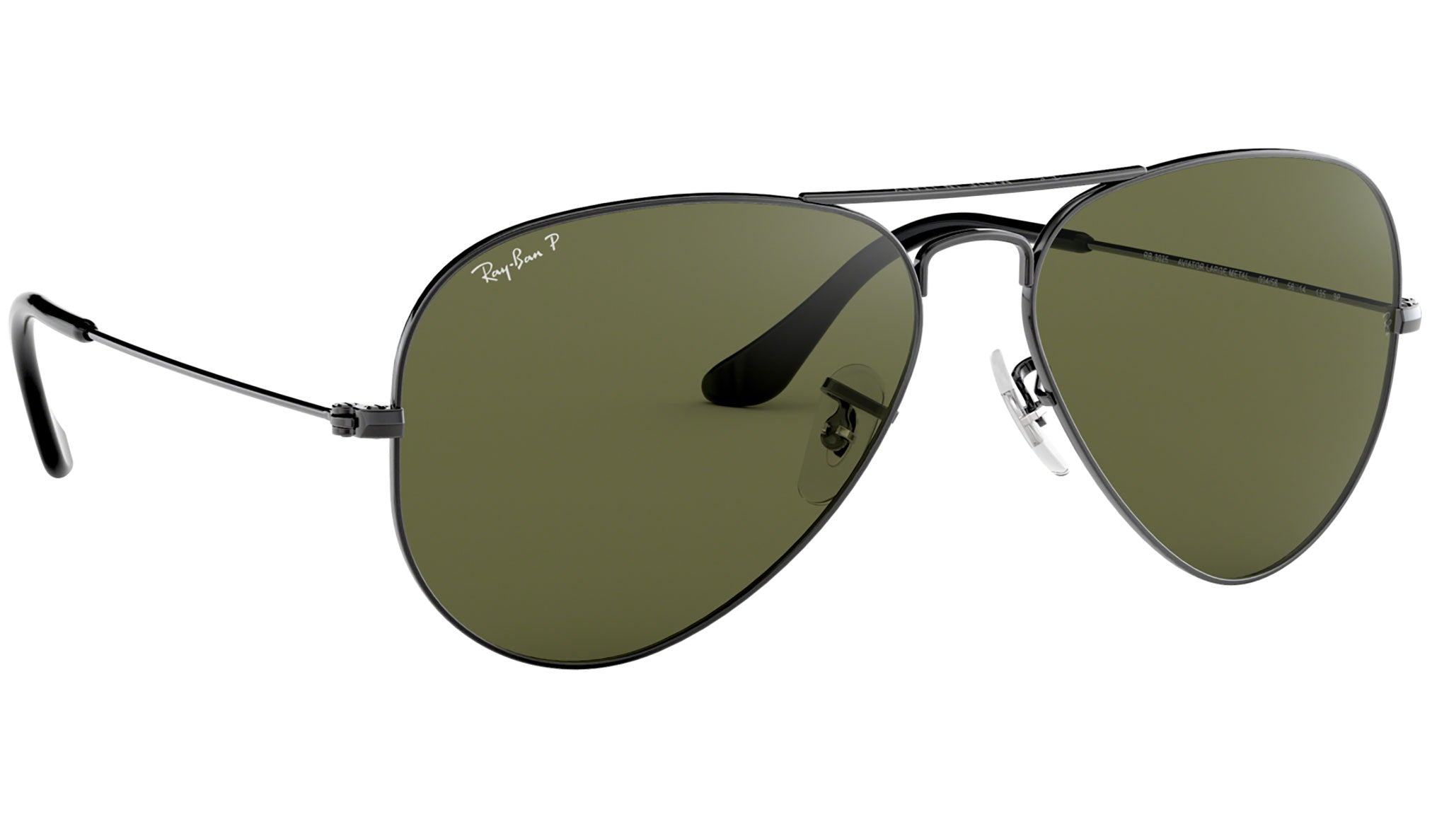 Aviator Classic RB3025 polished gunmetal