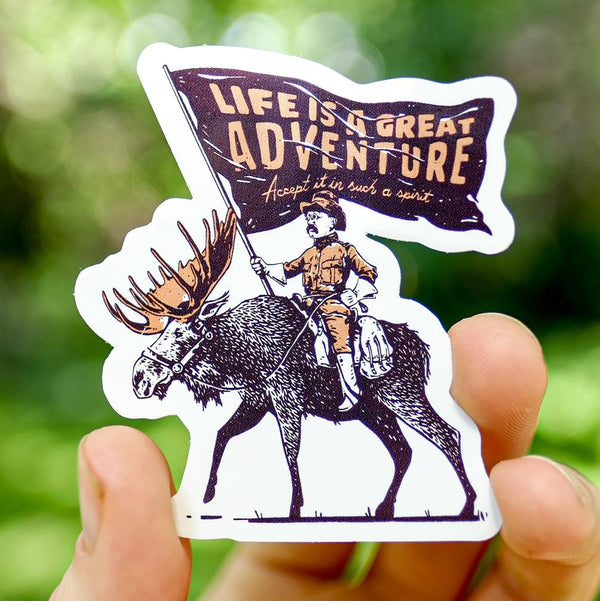 Rough Rider Sticker
