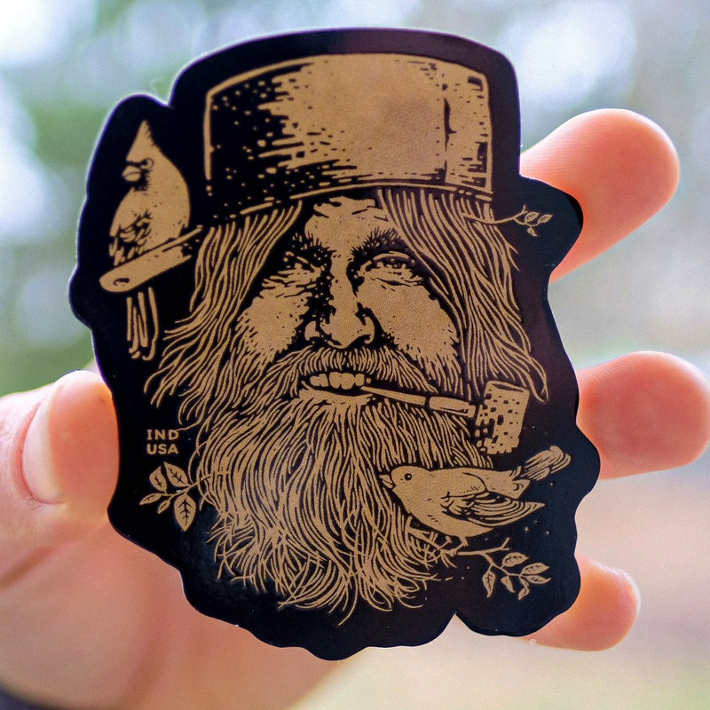 Johnny Appleseed Sticker