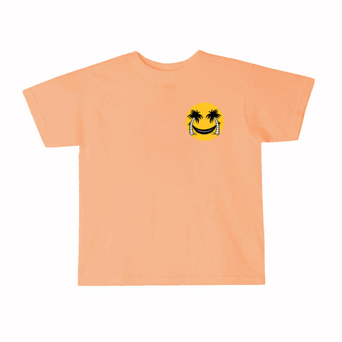 Smile in Paradise Tee - Orange