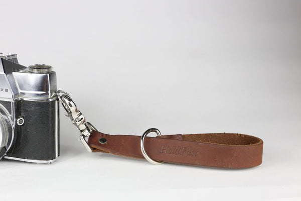 Holdfast Camera Leash - Oiled Brown