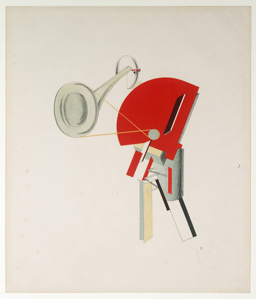 Announcer - by El Lissitzky