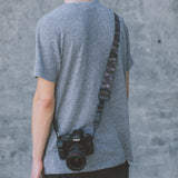 DSPTCH Heavy Camera Strap - Black Camo