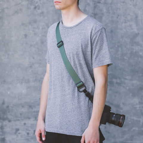 DSPTCH Heavy Camera Strap - Olive