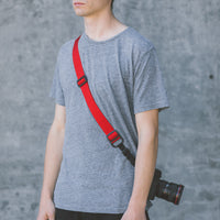 DSPTCH Heavy Camera Strap - Red