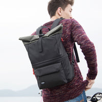 Hellolulu Poplar Camera Backpack, Black