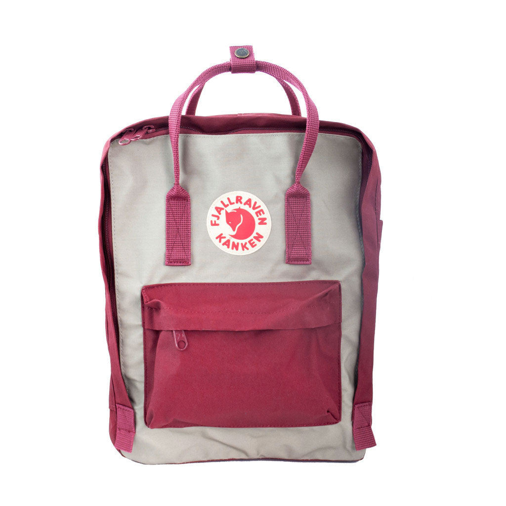 ox red and putty kanken classic