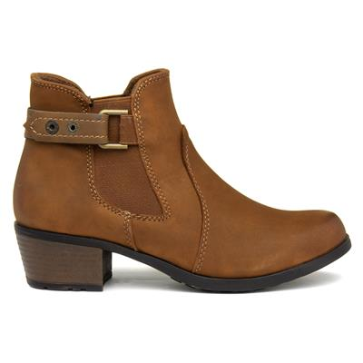 Earth Spirit El Rino Pull on Ankle Boot Almond