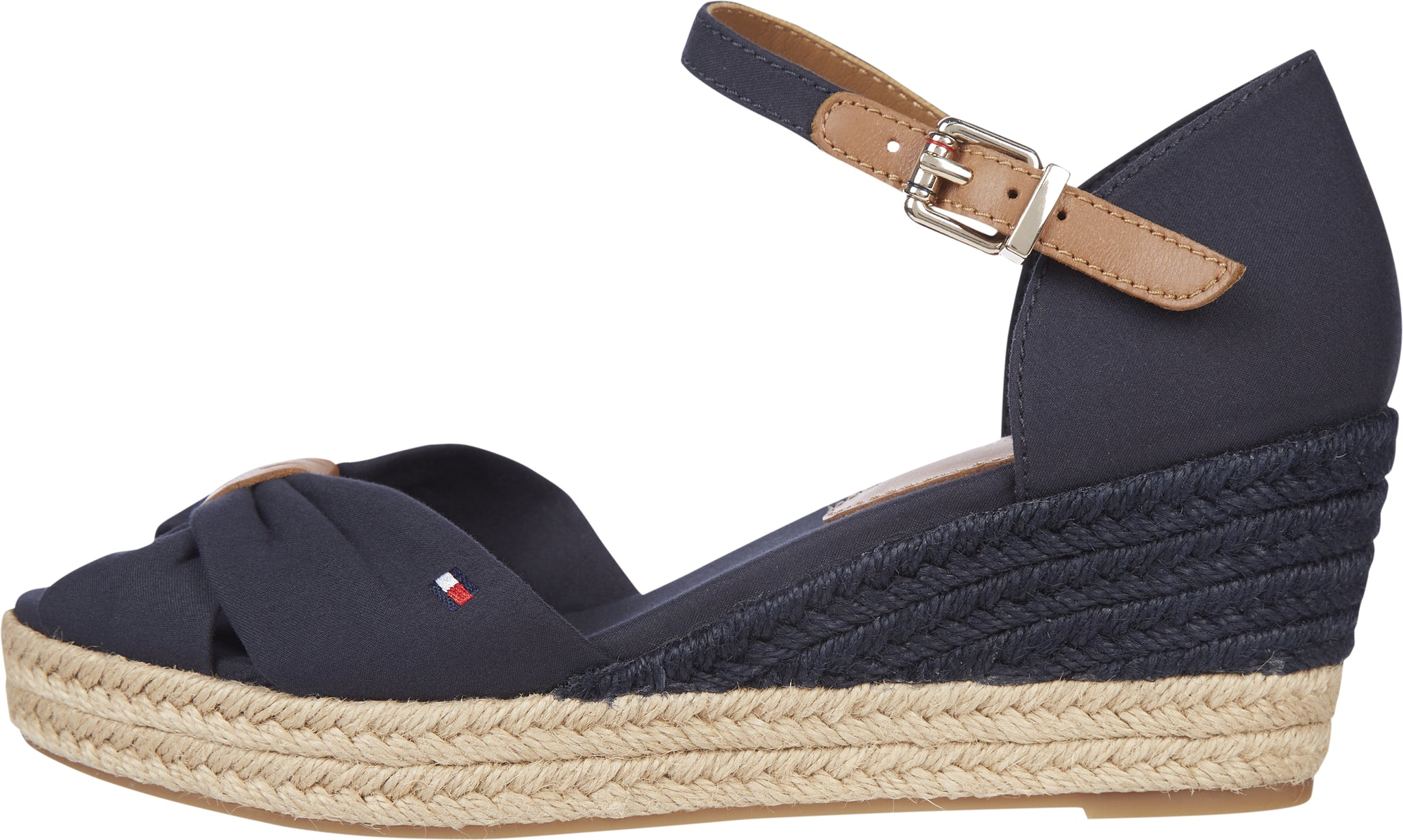 TOMMY HILFIGER BASIC OPEN TOE MID WEDGE