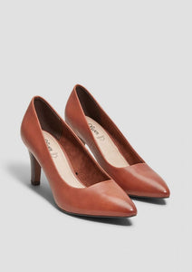 S.Oliver 22432 Court Shoe - Tan