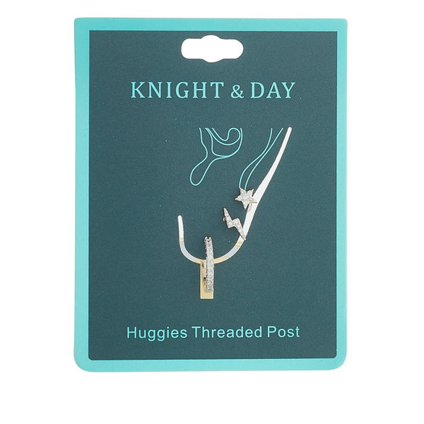 KNIGHT AND DAY AUBREY RHODIUM EARRING SET