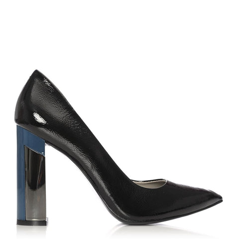 Moda in Pelle Black Patient Shoe