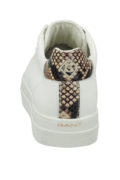 Gant Avona Bright White Trainer snake