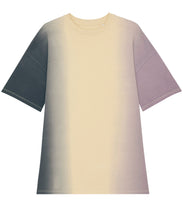 Load image into Gallery viewer, Twister Dip Dye, The women's dip dyed oversized t-shirt dress