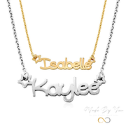 Girl's Name Necklace - MADE-BY-YOU (JEWELRY)