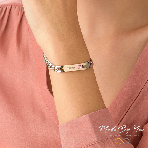 Personalized ID Bracelet - MADE-BY-YOU (JEWELRY)