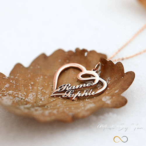 Together Forever Name Necklace - MADE-BY-YOU (JEWELRY)