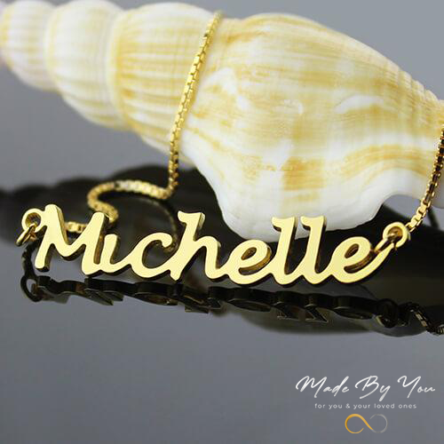Handwriting Name Necklace - MADE-BY-YOU (JEWELRY)