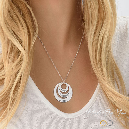 Circle Necklace - MADE-BY-YOU (JEWELRY)