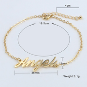 Proudly Wear My Name Bracelet - MADE-BY-YOU (JEWELRY)