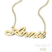 Parisienne Style Name Necklace - MADE-BY-YOU (JEWELRY)