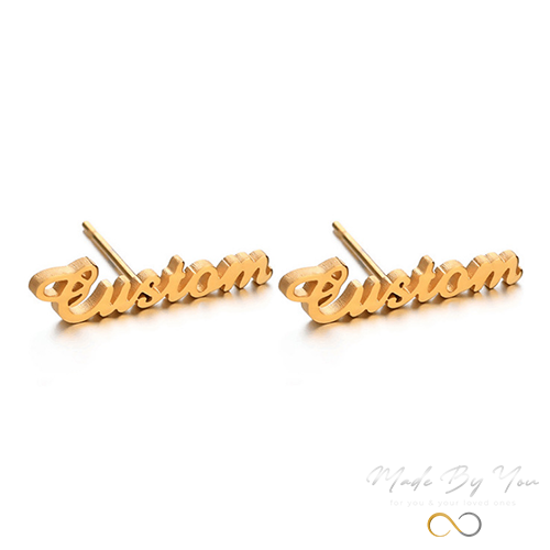 Name Earrings - MADE-BY-YOU (JEWELRY)