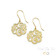 Premium Monogram Earrings - MADE-BY-YOU (JEWELRY)