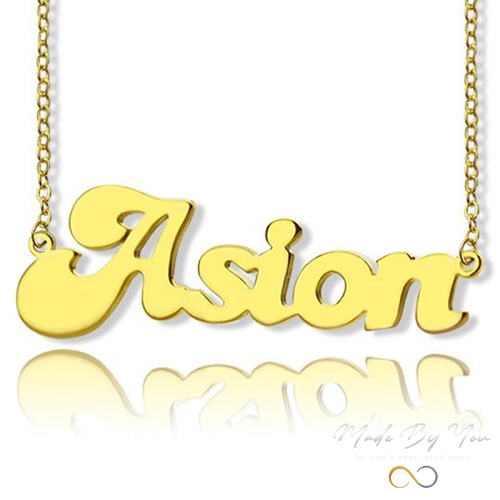 Banana Split Name Necklace - MADE-BY-YOU (JEWELRY)